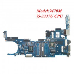 HP 9470M 717842-001 مادربرد لپ تاپ اچ پی