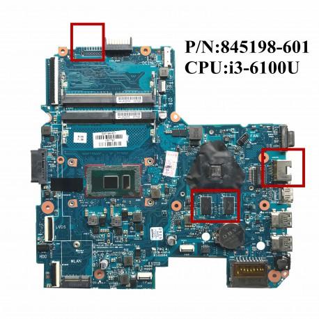 HP 340 G3 845198-601 مادربرد لپ تاپ اچ پی