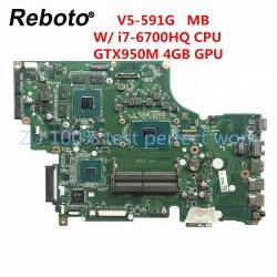 Acer V5-591G i7-6700HQ مادربرد لپ تاپ ایسر