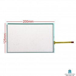 "4-Wire 8.5"" Resistive Touch Screen تاچ اسکرین مقاومتی"