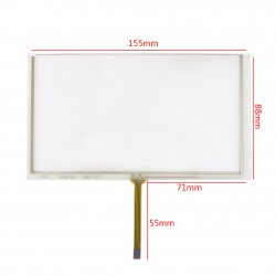 Resistive Touch Screen 6.2 Inch تاچ اسکرین مقاومتی