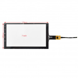 Capacitive Touch Screen 7 inch 6pin تاچ اسکرین خازنی