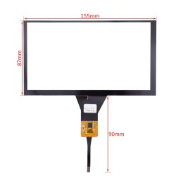 Capacitive Touch Screen 6.5 Inch تاچ اسکرین خازنی