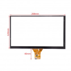 Capacitive touch Screen 9 inch تاچ اسکرین خازنی