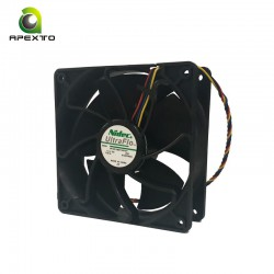 Fan 120x120x38 bitcoin miner 12v PWM antminer s9 فن ماینر