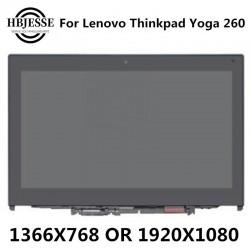 پنل ال سی دی لپ تاپ اسمبلی Yoga Lenovo Thinkpad for 260 20gt 00ny900 FHD