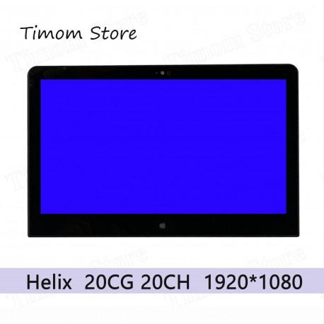 پنل ال سی دی لپ تاپ اسمبلی Helix 2 20CG 20CH ThinkPad 00HT538 00HT531
