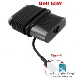 Dell 65W Type-C USB-C آداپتور برق شارژر لپ تاپ دل