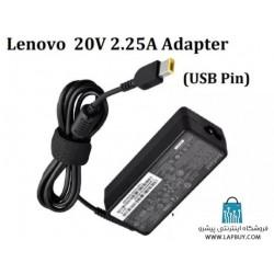 Lenovo 20V 2.25A 45W آداپتور برق شارژر لپ تاپ لنوو