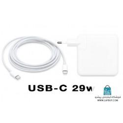 Apple 29W USB-C Power Adapter آداپتور برق شارژر اصلی لپ تاپ اپل