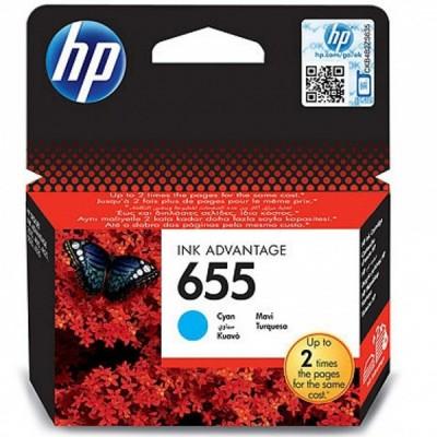 HP 655 Cyan Cartridge کارتریج پرینتر اچ پی