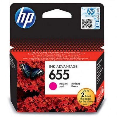 HP 655 Magenta Cartridge کارتریج پرینتر اچ پی