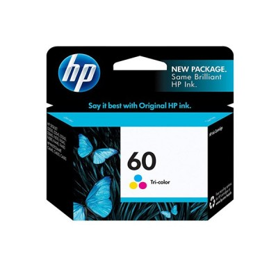HP 60 color Cartridgeکارتریج پرینتر اچ پی