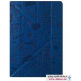 Ozaki Ocoat Travel London Flip Cover Apple iPad mini 4 کیف کلاسوری اوزاکی آی پد مینی