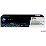 HP 126A (CE312A) Yellow کارتریج پرینتر اچ پی زرد پرینتر اچ پی