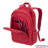 RivaCase 7560 For 15.6 inch Red کوله پشتی لپ تاپ ریواکیس