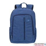 RivaCase 7560 Backpack For 15.6 inch Blue کوله پشتی لپ تاپ ریواکیس