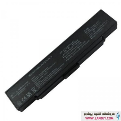 Sony VAIO VGN-CR-6Cell باطری باتری لپ تاپ سونی