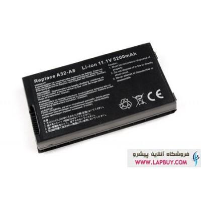 ASUS X80 باطری باتری لپ تاپ ایسوس