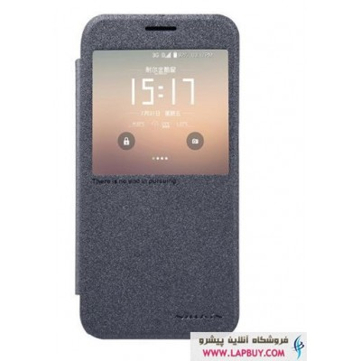 Nillkin New Leather Sparkle Flip Cover Samsung Galaxy S7 کیف کلاسوری