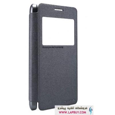 Samsung Galaxy Grand Prime Nillkin Sparkle Leather Flip Cover کیف کلاسوری