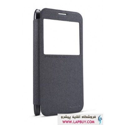 Samsung Galaxy E7(E700) Nillkin Sparkle Leather Flip Cover کیف کلاسوری