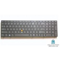HP Elitebook 8570w کیبورد لپ تاپ اچ پی