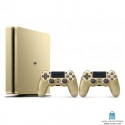 PlayStation 4 Slim Gold Dual Controller کنسول بازی سونی