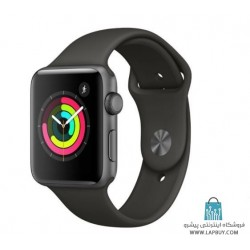 Apple Watch Series 3 GPS 38mm Space Gray Aluminum Case with Black Sport Band ساعت هوشمند اپل واچ