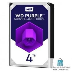 Western Digital Purple WD40PURX 4TB هارد دیسک اینترنال
