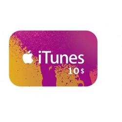 Apple iTunes 10 Dollars Gift Card گیفت کارت 10 دلاری آیتونز