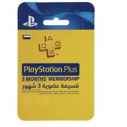 PlayStation Plus Gift Card - 3 Months Membership گیفت کارت پلی استیشن پلاس