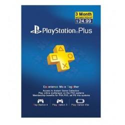 PlayStation Plus Gift Card - 3Months Membership گیفت کارت پلی استیشن پلاس