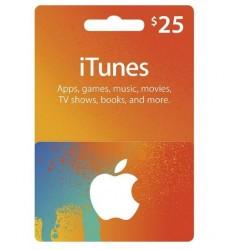 Itunes 25 usd Gift Card گیفت کارت 25 دلاری آیتونز آمریکا