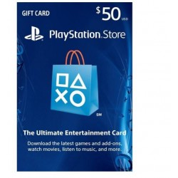 Play Station Network PSN 50 Usd Gift Card US گیفت کارت 50 دلاری پلی استیشن نتورک آمریکا