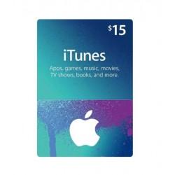Itunes 15 usd Gift Card گیفت کارت 15 دلاری آیتونز آمریکا