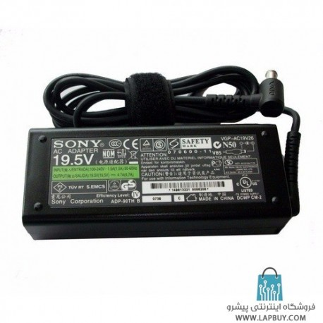 Sony VGN-S580 series AC Adapter آداپتور برق شارژر لپ تاپ سونی