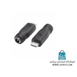 5.5mm To USB Type-C تبدیل جک آداپتور