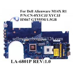Dell Alienware M14X R1 مادربرد لپ تاپ دل