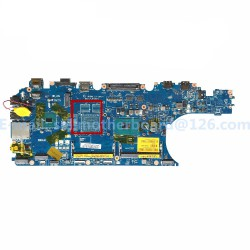 Dell E5570 i7-6820HQ مادربرد لپ تاپ دل