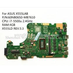 ASUS X555LAB i7-5500u مادربرد لپ تاپ ایسوس