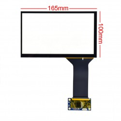 with Capacitive Touch Screen 7 inch تاچ اسکرین خازنی