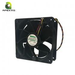120x120x38 5000rpm bitcoin miner 4 pin PWM فن ماینر