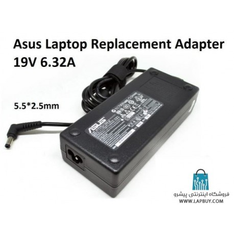 Asus 19V 6.3A Laptop Charger آداپتور برق شارژر لپ تاپ ایسوس