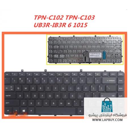 HP Keyboard Envy 4 1015 کیبورد لپ تاپ اچ پی