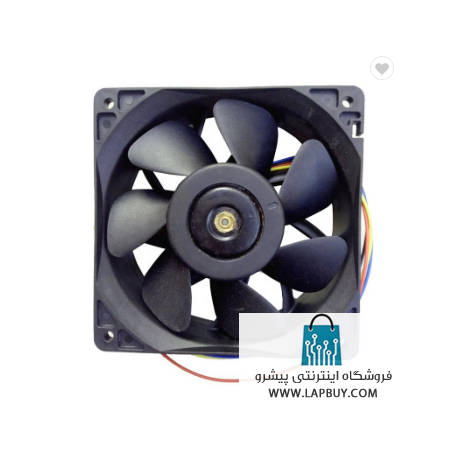 120x120x38 Cooling Fan 4-pin Antminer Bitmain QFR1212GHE فن ماینر