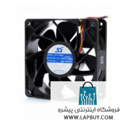120x120x38 Cooling Fan 4-pin Antminer Bitmain L3 فن ماینر