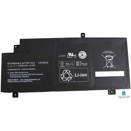 Sony VAIO VGP-BPS34 باطری باتری لپ تاپ سونی