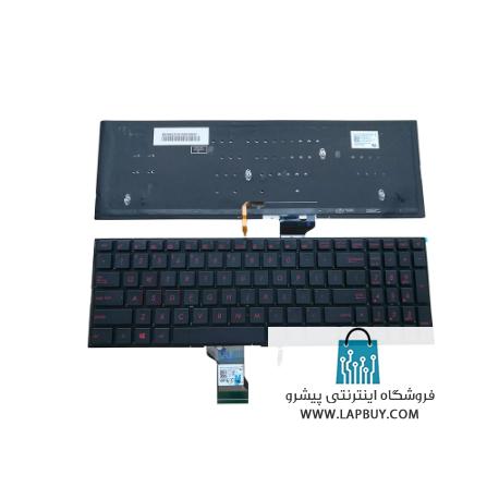 ASUS ROG G501 کیبورد لپ تاپ ایسوس