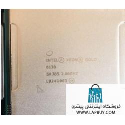 20 Core Intel Xeon Gold 6138 Processor Server CPU سی پی یو سرور
